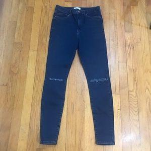 Forever 21 high rise jeggings skinny jeans